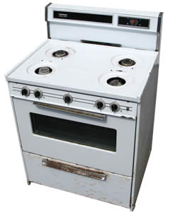 Kitchen Stove - recycle your appliances