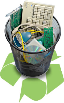e-waste mixed