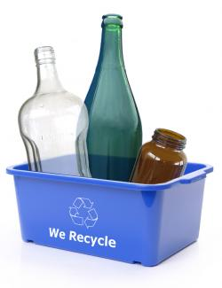 Non-HI-5 recyclable glass