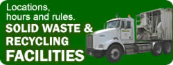 Solid Waste & Recycling Facilities