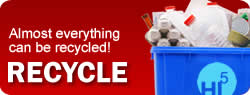 Almost Everything can be recycled!